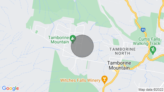 Cassowary Luxury Cottage - Mount Tamborine Map