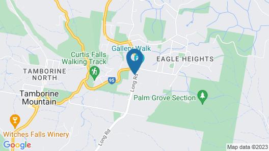 Amore Mt Tamborine Map