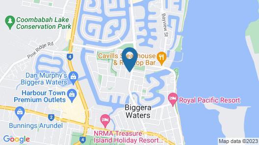 Reiki Holiday House Runaway BAY Map