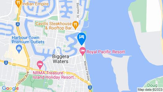 Atrium Resort Map
