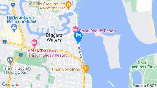 Windsurfer Resort Map