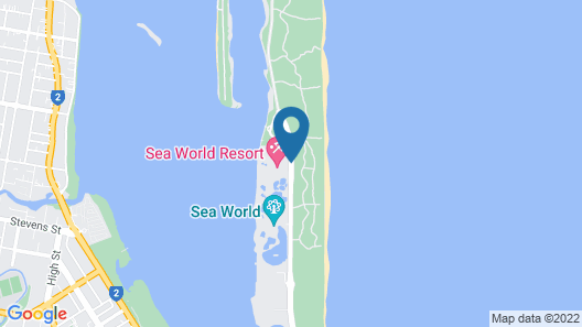 Sea World Resort Map