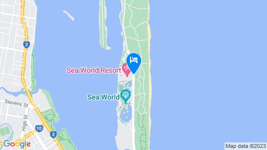 Sea World Resort Map