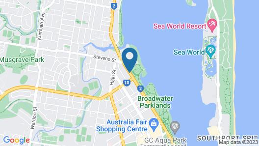 Aqualine Apartments Map