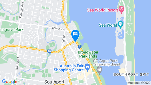 Sky Broadwater Apartments Map