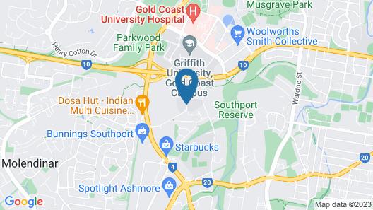 Griffith University Village Map
