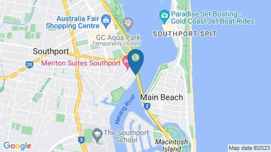 Broadwater Tourist Park Map