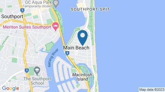 Oscar on Main Resort Map
