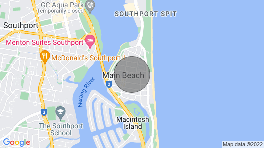 Relaxed Beachside Experience on the Coast Map