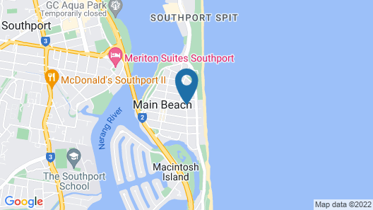 Xanadu Main Beach Resort Map