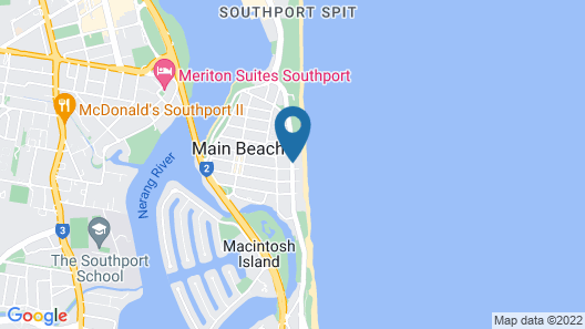 Hibiscus On The Beach Map