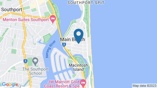 Scalinada Apartments Map