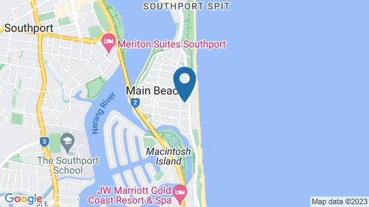 Pacific Views Resort Map