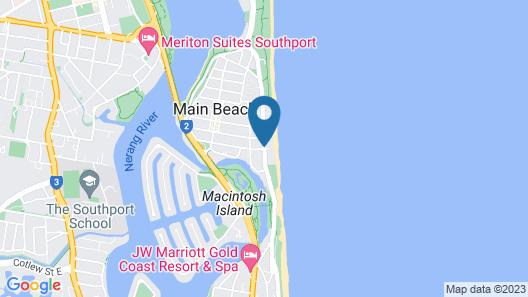 Sunbird Beach Resort Map