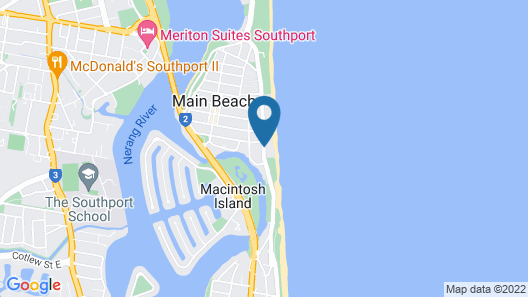 Norfolk Luxury Beachfront Apartments Map