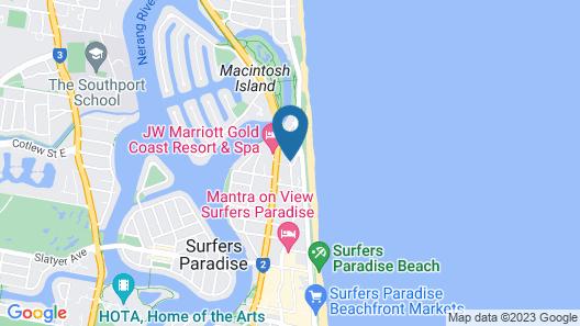Rhapsody Resort Map