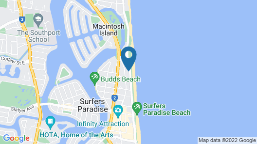 Oceanfront Luxury Sub-Penthouse Map