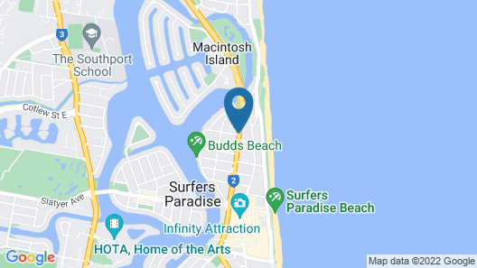 Alpha Sovereign Hotel Map