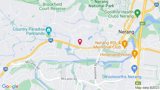 Gold Coast Nerang 99 House Map