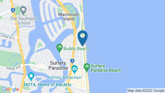 Pacific Plaza Apartments Map