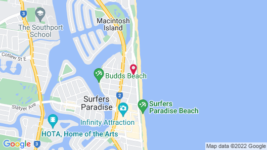 The Shore Apartments Map