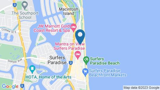 Kupari Boutique Apartments Map