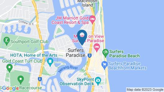 Budds Beach Apartments Map