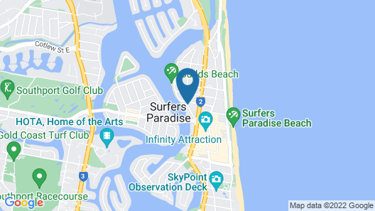 Surfers Mayfair Map