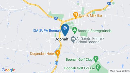 Australian Hotel Boonah Map