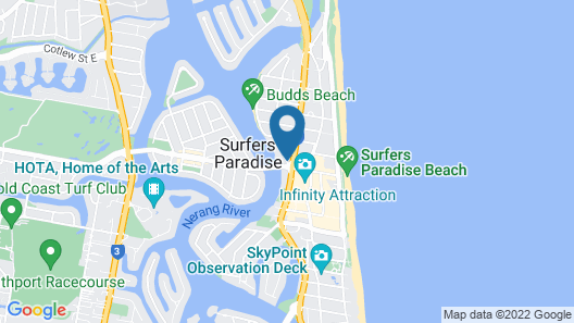 Condor Ocean View Apartments Map