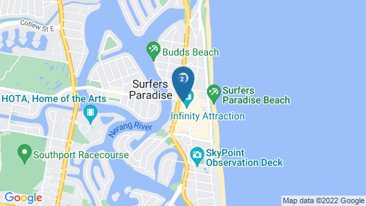Holiday Holiday - H Residence Apartments Map
