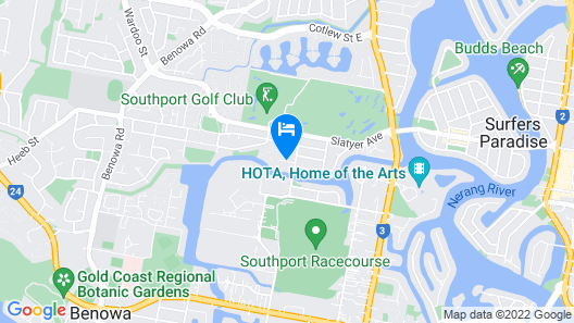 Waterford Private Apartments Map