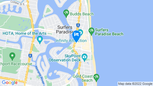 Circle on Cavill - Private Apartments Map