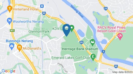 Elite Gold Coast Map