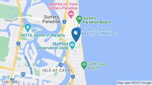 Aloha Apartments Map