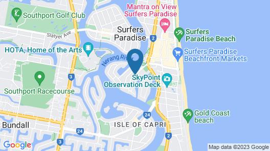 Surfers Del Rey Map