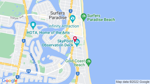 Mantra Legends Hotel Map