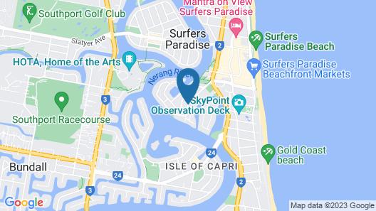 Anchor Down Apartments Map