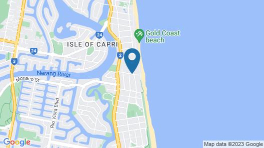 Wharf Boutique Apartments Map