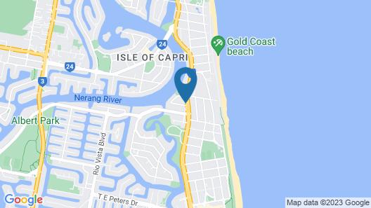 Gold Coast Inn Map