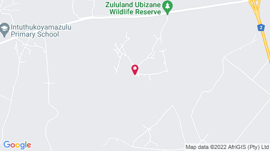 Ubizane Wildlife Reserve Map