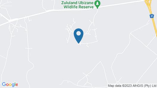 Ubizane Wildlife Reserve Map