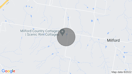 Milford Country Cottages Map