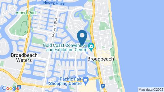 ULTIQA Freshwater Point Resort Map