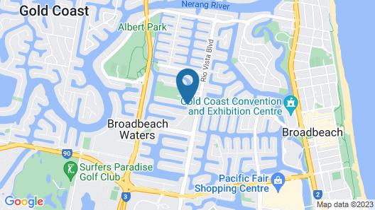 ADELE ON BROADBEACH Map