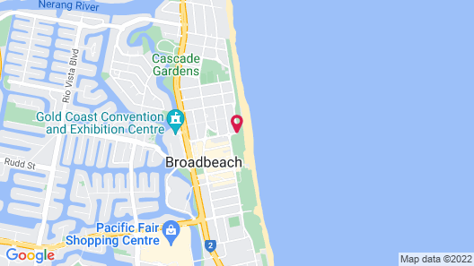 Talisman Apartments Map