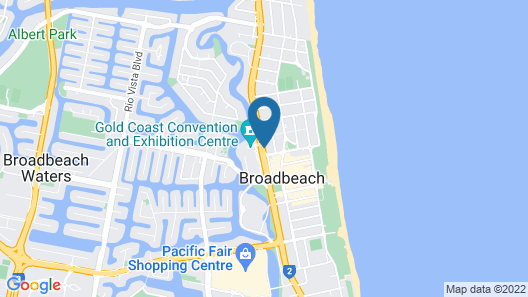 Synergy Broadbeach Map