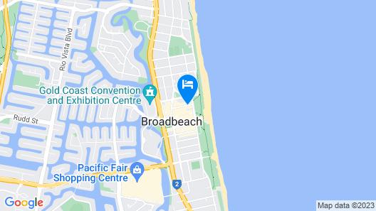 Sandpiper Apartments Map