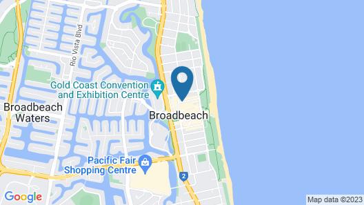 Aria Apartments Map