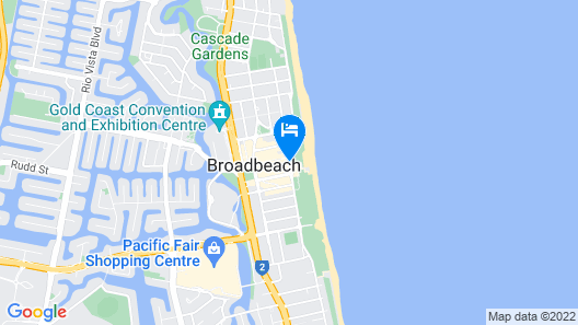 ULTIQA Air On Broadbeach Map
